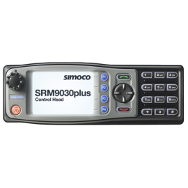 P25 Digital Simoco SRM9030 Plus with Keypad Microphone 1000 Channels